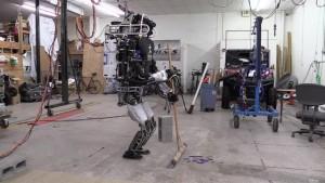 Atlas, Broom, robot