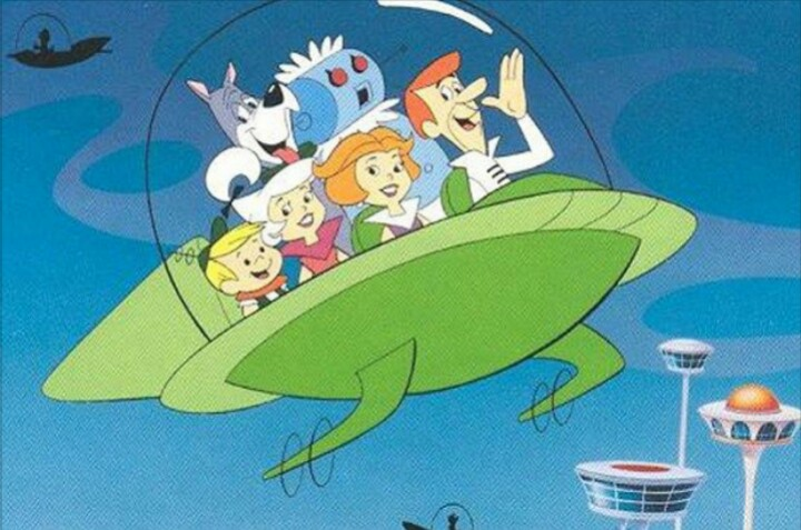The Jetsons flying car