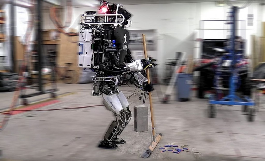 Boston Dynamic's robot, Atlas