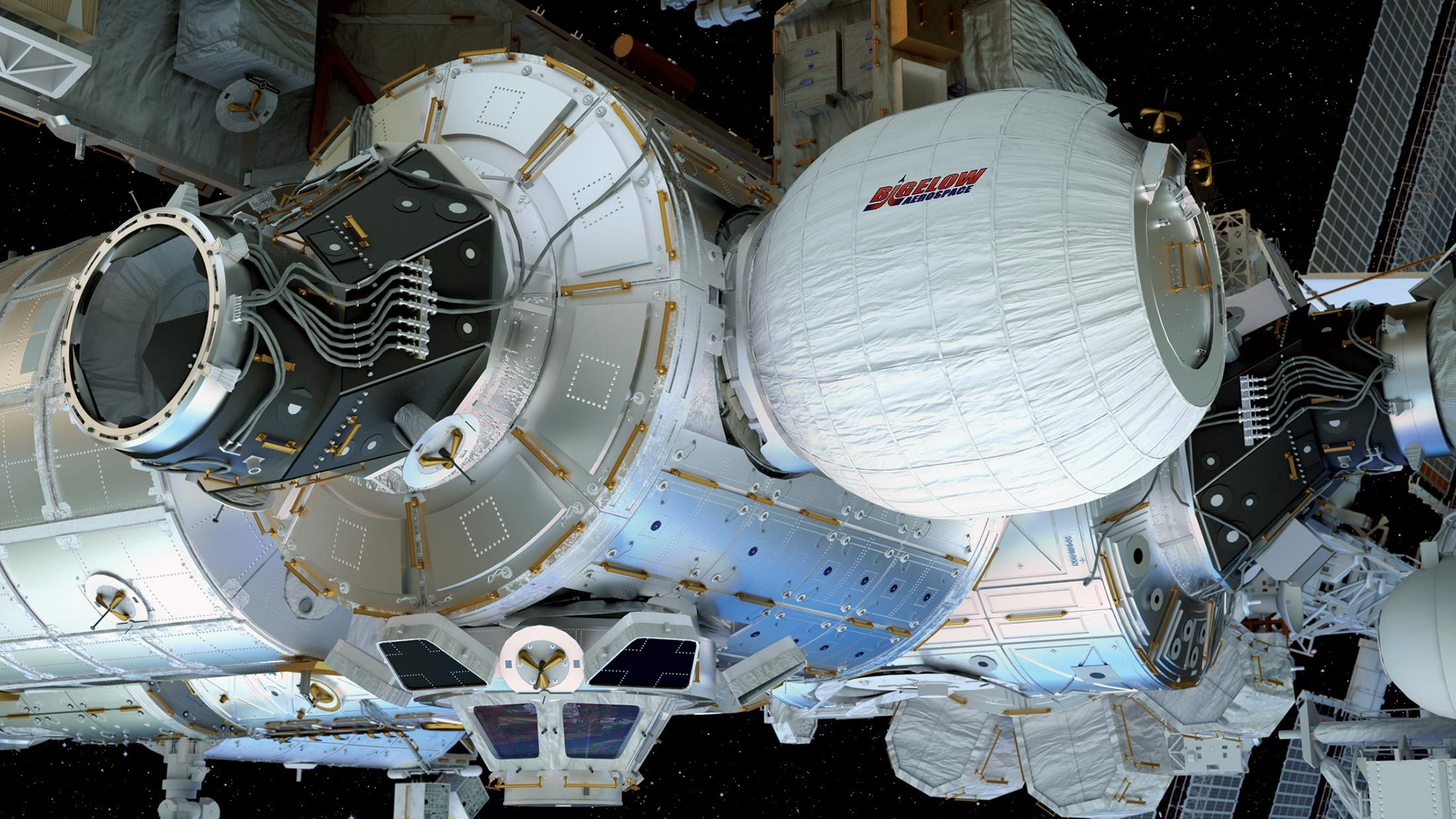Bigelow Module inflates to form habitats beyond the moon